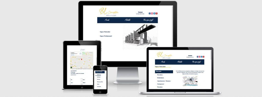 webdesign site BL conception
